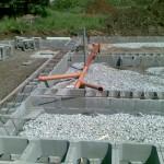 KB bloky+vodorovné vyztužení+kanalizace