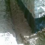vrchní vrstva písku