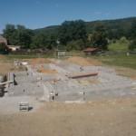 Dokončená prvotní fáze a příprava na betonáž
