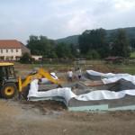 Ochranná opatření čerstvého betonu + příprava na další fázy